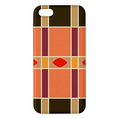Shapes and stripes                                                                 			iPhone 5S Premium Hardshell Case