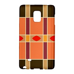Shapes and stripes                                                                 Samsung Galaxy Note Edge Hardshell Case