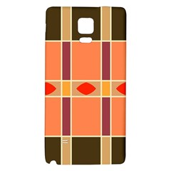 Shapes and stripes                                                                 			Samsung Note 4 Hardshell Back Case