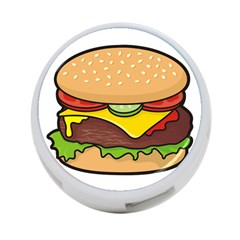 Cheeseburger 4-Port USB Hub (One Side)