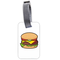 Cheeseburger Luggage Tags (One Side)