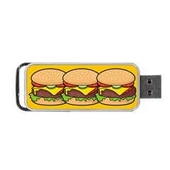 Cheeseburger Portable USB Flash (Two Sides)