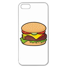 Cheeseburger Apple Seamless Iphone 5 Case (clear)