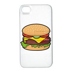 Cheeseburger Apple iPhone 4/4S Hardshell Case with Stand