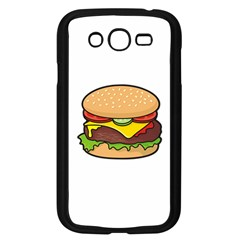 Cheeseburger Samsung Galaxy Grand DUOS I9082 Case (Black)