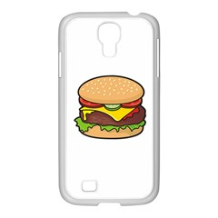 Cheeseburger Samsung GALAXY S4 I9500/ I9505 Case (White)