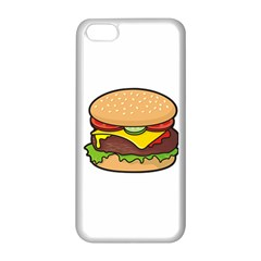 Cheeseburger Apple iPhone 5C Seamless Case (White)