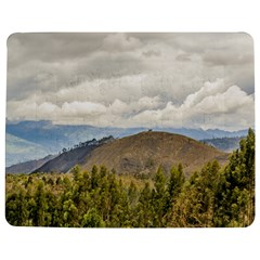 Ecuadorian Landscape At Chimborazo Province Jigsaw Puzzle Photo Stand (Rectangular)