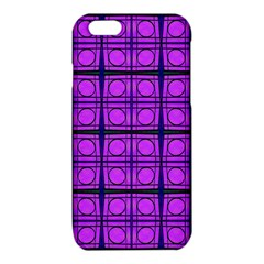 Bright Pink Mod Circles iPhone 6/6S TPU Case