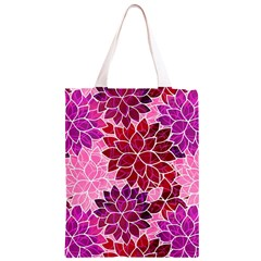 Rose Quartz Flowers Classic Light Tote Bag