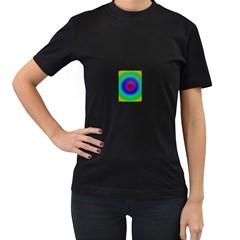 Colors Women s T Shirt (black)