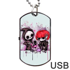 Local Anesthetic Dog Tag USB Flash (Two Sides)