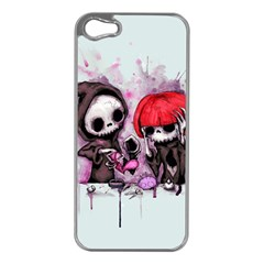 Local Anesthetic Apple iPhone 5 Case (Silver)
