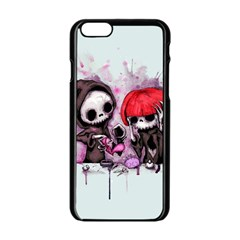 Local Anesthetic Apple iPhone 6/6S Black Enamel Case