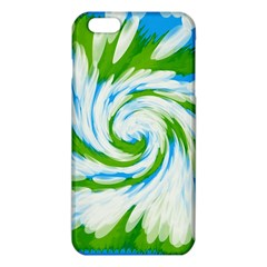 Tie Dye Green Blue Abstract Swirl Iphone 6 Plus/6s Plus Tpu Case