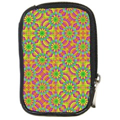 Modern Colorful Geometric Compact Camera Cases