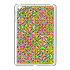 Modern Colorful Geometric Apple Ipad Mini Case (white)