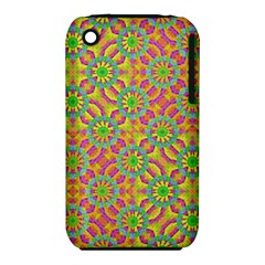 Modern Colorful Geometric Apple iPhone 3G/3GS Hardshell Case (PC+Silicone)