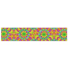 Modern Colorful Geometric Flano Scarf (Small)