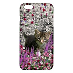 Emma In Flowers I, Little Gray Tabby Kitty Cat Iphone 6 Plus/6s Plus Tpu Case