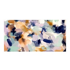 Lee Abstract Satin Wrap