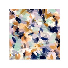 Lee Abstract Small Satin Scarf (square)