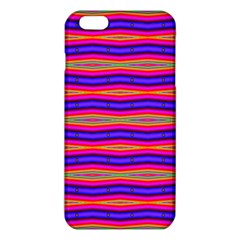 Bright Pink Purple Lines Stripes Iphone 6 Plus/6s Plus Tpu Case