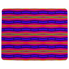 Bright Pink Purple Lines Stripes Jigsaw Puzzle Photo Stand (Rectangular)