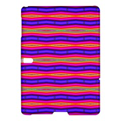 Bright Pink Purple Lines Stripes Samsung Galaxy Tab S (10.5 ) Hardshell Case