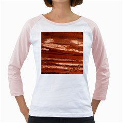 Red Earth Natural Girly Raglans