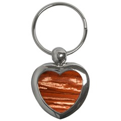 Red Earth Natural Key Chains (Heart)