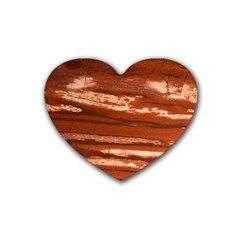 Red Earth Natural Heart Coaster (4 pack)