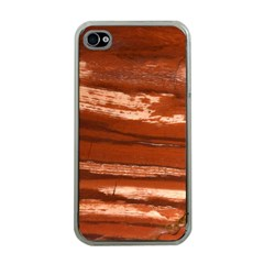 Red Earth Natural Apple Iphone 4 Case (clear)