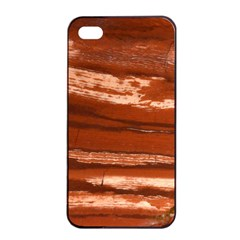 Red Earth Natural Apple iPhone 4/4s Seamless Case (Black)