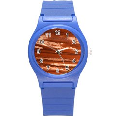 Red Earth Natural Round Plastic Sport Watch (S)