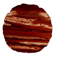 Red Earth Natural Large 18  Premium Round Cushions