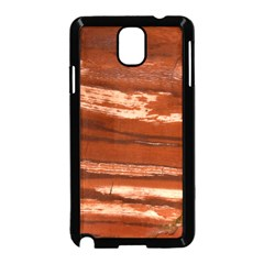 Red Earth Natural Samsung Galaxy Note 3 Neo Hardshell Case (Black)