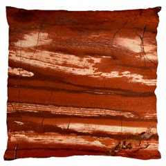 Red Earth Natural Standard Flano Cushion Case (Two Sides)