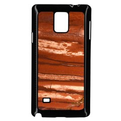 Red Earth Natural Samsung Galaxy Note 4 Case (black)