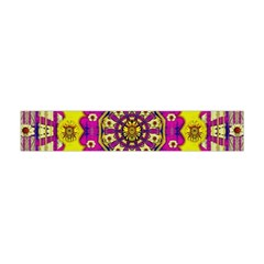 Celebrating Summer In Soul And Mind Mandala Style Flano Scarf (Mini)