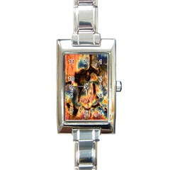 Naturally True Colors  Rectangle Italian Charm Watch