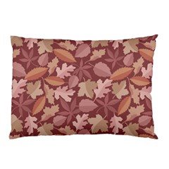 Marsala Leaves Pattern Pillow Case (Two Sides)