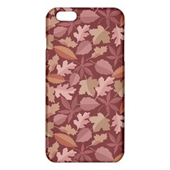 Marsala Leaves Pattern iPhone 6 Plus/6S Plus TPU Case