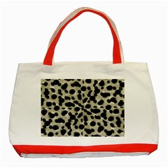 Metallic Camouflage Classic Tote Bag (Red)