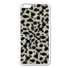 Metallic Camouflage Apple iPhone 6 Plus/6S Plus Enamel White Case