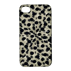 Metallic Camouflage Apple Iphone 4/4s Hardshell Case With Stand