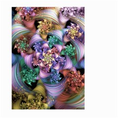 Bright Taffy Spiral Large Garden Flag (Two Sides)