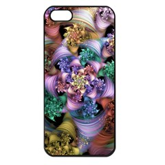 Bright Taffy Spiral Apple Iphone 5 Seamless Case (black)
