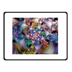 Bright Taffy Spiral Double Sided Fleece Blanket (Small)