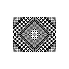 Geometric Pattern Vector Illustration Myxk9m   YOU ARE INVITED 3D Greeting Card (8x4)